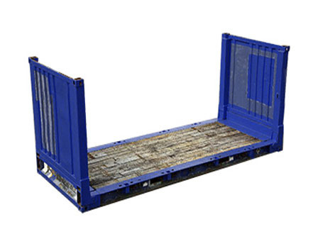 20' Collapsible Flat Rack - 22 P3