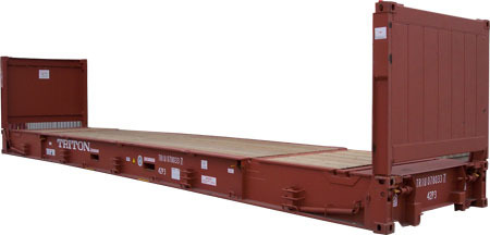 40' Collapsible Flat Rack - 42 P3