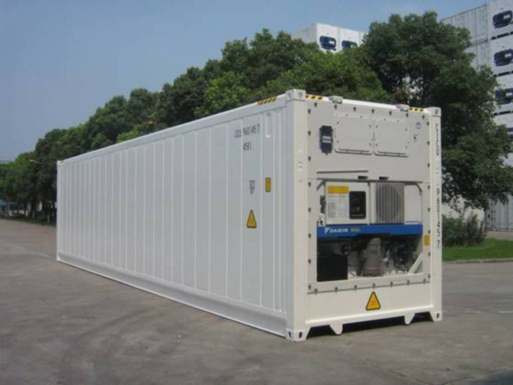 40' High Cube Reefer Steel Container - 45 R1