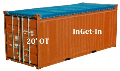 20' Open Top Steel Container - 22 U1
