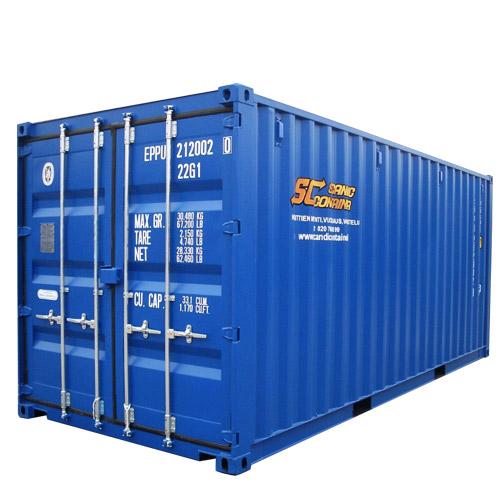 20' Standard Steel Container - 22 G1